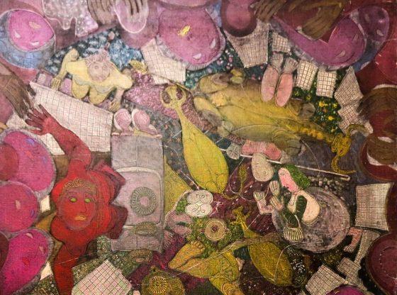 """Димитър Казаков, """"Безкраен ден"""" (фрагмент), Градска художествена галерия – Трявна"""