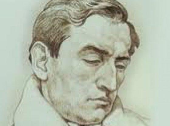 Портрет на Теодор Траянов от художника Борис Георгиев, 1922 г.