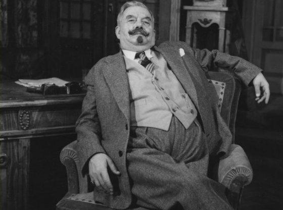 Петко Атанасов в ролята на Големанов в едноименната пиеса на Ст. Л. Костов