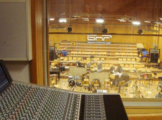 Звукозаписното и концертно студио на БНР днес