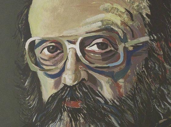 Портрет на Димо Димов, 2003 г. , автор: Андрей Даниел, частна колекция