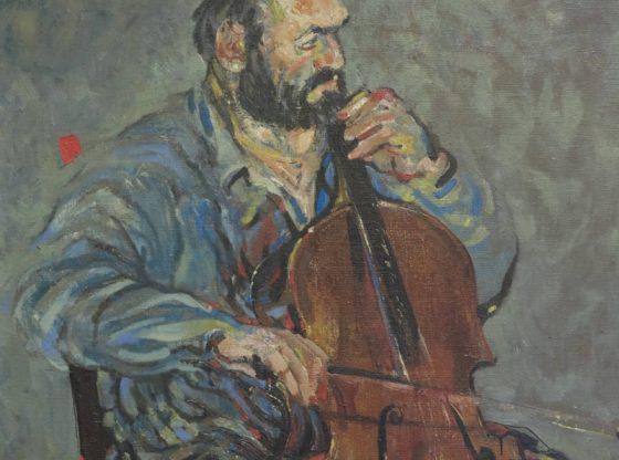 Портрет на Методи Недялков, 1985 г., автор: Андрей Даниел, частна колекция