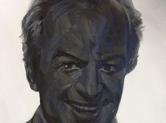 "Портрет на Борис Христов, 2008 г., автор: Марио Лишевски, Национален център ""Борис Христов"""