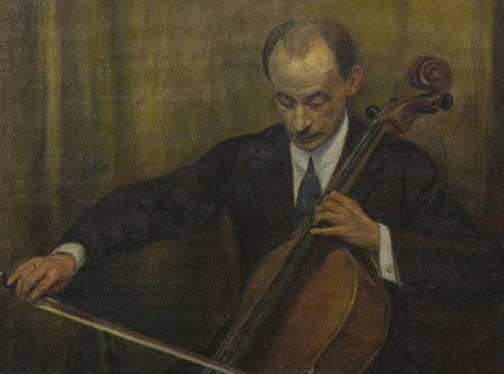 Портрет на Иван Цибулка, автор: Борис Денев, частна колекция