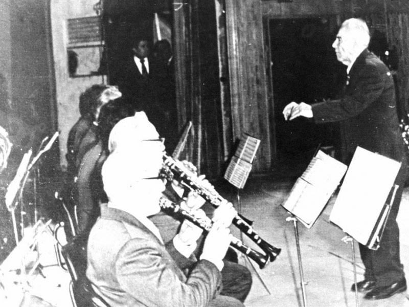 Последният концерт на Дико Илиев като диригент.