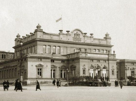 Сградата на Народното събрание, 1925 г.