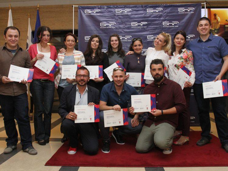 Участници в Четвърти майсторски клас на БНР Академия – 2017 г.