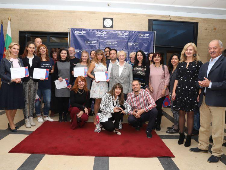 Преподаватели и участници в Пети майсторски клас на БНР Академия – 2018 г.