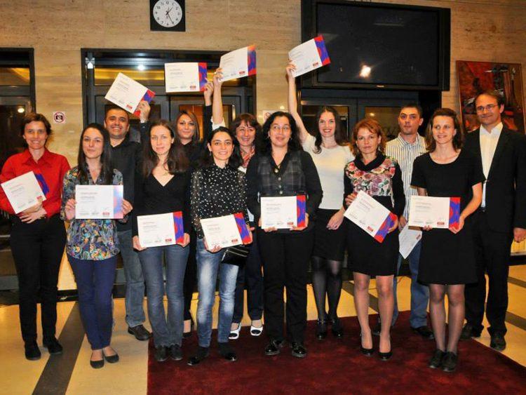 Участници в Първи випуск на Училище за радио в БНР – 2014 г