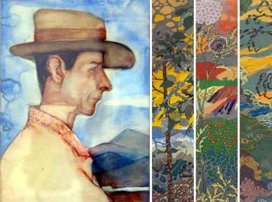 Пейзажи от Николай Райнов и портрет на художника