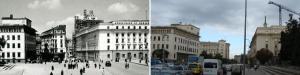 """Изглед към площад """"Независимост"""", наричан неофициално Ларгото"""