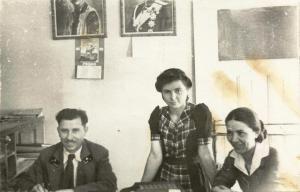 Христина Масърова – пощенка в Перущица, 1936 г.