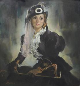 Портрет на Мими Балканска