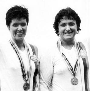 Сийка Келбечева и Стоянка Груйчева, Монреал 1976, гребане, двойка без рулеви