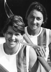 Здравка Йорданова и Светла Оцетова, Монреал 1976, гребане, двойка скул