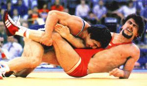 Исмаил Абилов, Москва 1980, борба, свободен стил, 82 кг