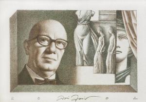 Портрет на Веселин Стоянов, 2002 г.