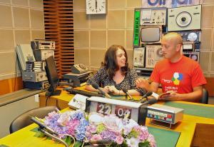 Милен Димитров в разговор с Гергана Личкова - гост в студиото на Бинар, 2012 г.