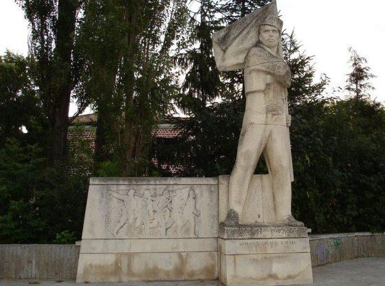Паметникът на Никола Симов – Куруто в Търговище