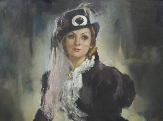 Портрет на Мими Балканска, автор: Евгений Вашченко, НЦМТ