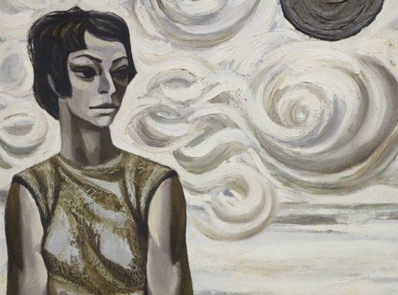 Портрет на Паша Христова, 1972 г. автор: Йоан Левиев, НХГ