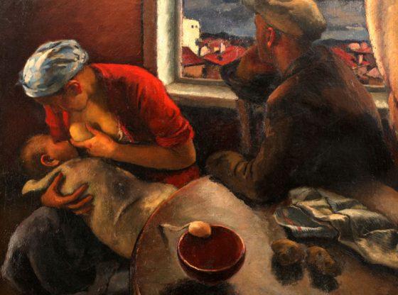 """""""Работническо семейство"""", 1937 г., ХГ Стара Загора"""