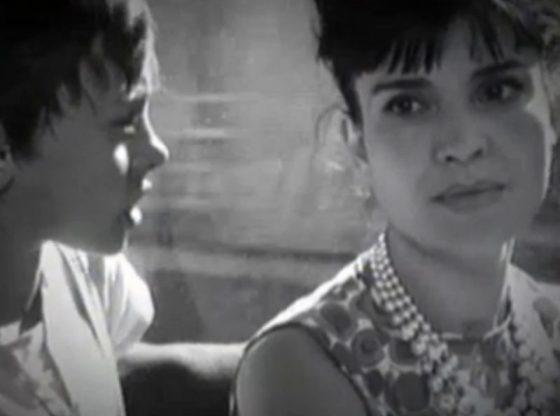 "Мария Русалиева с малкия Олег Ковачев в ""Рицар без броня"" (1966)"