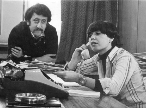 """Велко Кънев и Пепа Николова във филма """"Светъл пример"""" (1976) на режисьора Иван Андонов"""