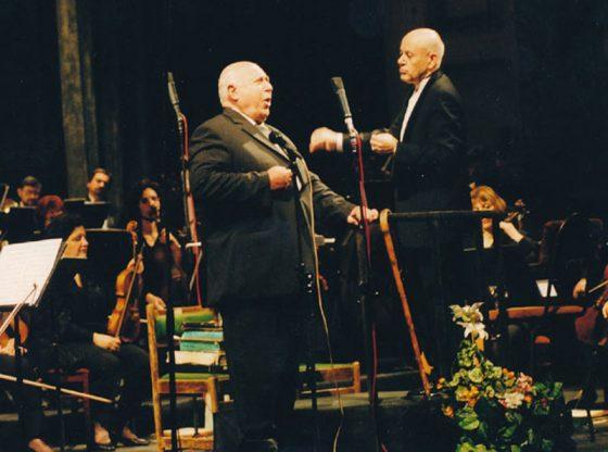 Георги Нотев дирижира оркестъра на Софийската опера на концерта за 70-годишнината на големия български баритон Стоян Попов.