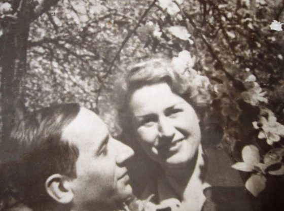 Васил Стоилов със съпругата си Ганка Найденова - Стоилова