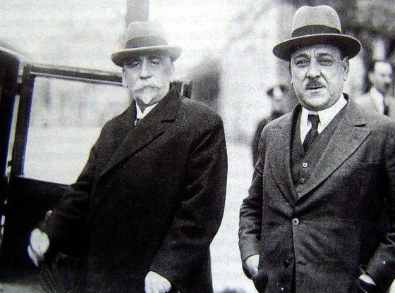 Андрей Ляпчев и Атанас Буров