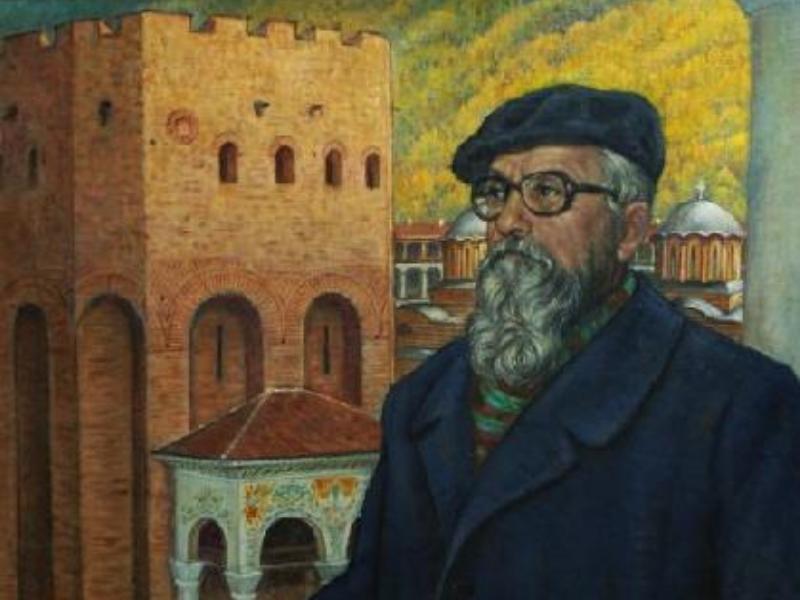 Проф. Асен Василиев – изкуствоведът с палитрата и четките