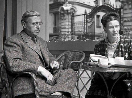Жан-Пол Сартр и Симон дьо Бовоар