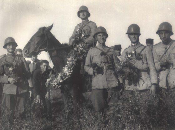 Посрещане на българските войски в Южна Добруджа през септември 1940 година