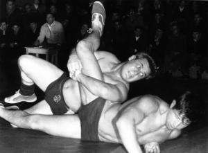 Никола Станчев, Мелбърн 1956, борба, свободен стил, 79 кг