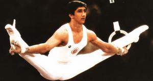 Стоян Делчев, Москва 1980, гимнастика, висилка
