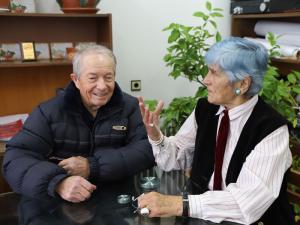Велин Симеонов и Йорданка Дичкова си припомнят паметните събития, случили се по време на Втората световна война в Нови хан