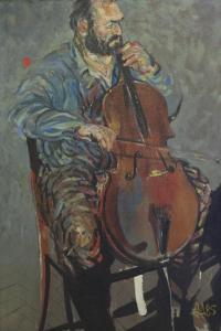 Портрет на Методи Недялков, 1985 г.