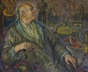 Портрет на Стоян Попов, 2003 г.