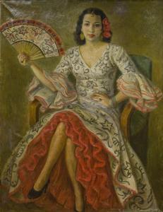Портрет на Илка Попова, 1946 г.