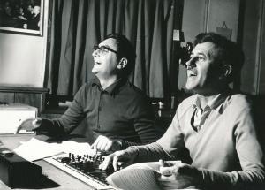 от ляво надясно: Кирил Каменов и Иван Хаджийски