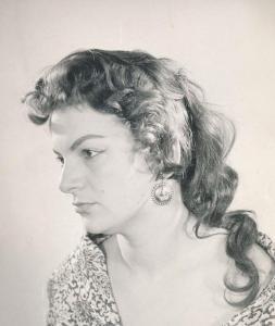 Лина Бояджиева през 1959 г.
