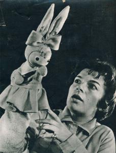 """Зайче Линче от """"Заешко училище"""", 1961 г."""