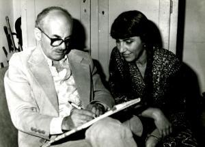 С руския бард Булат Окуджава